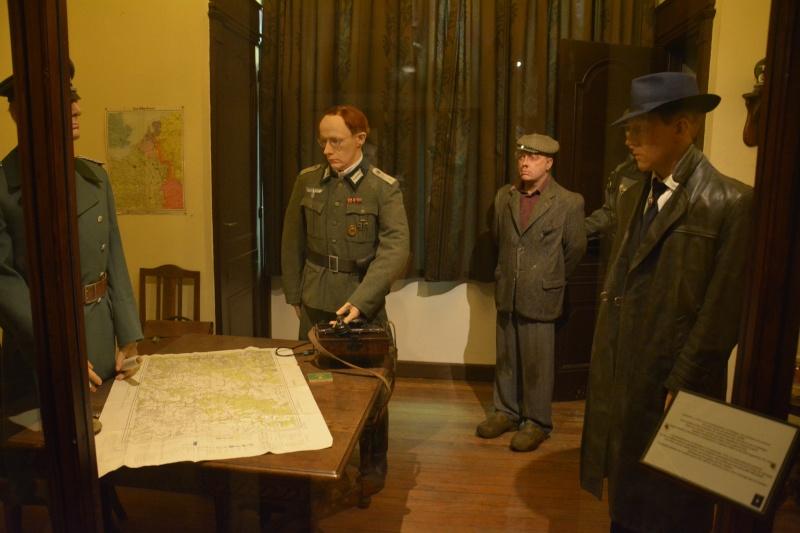 Musée de la 101 st Airborne à Bastogne Gestap10