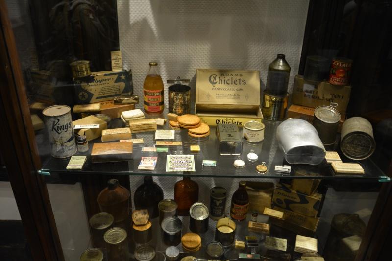 Musée de la 101 st Airborne à Bastogne Ration11