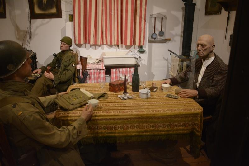 Musée de la 101 st Airborne à Bastogne Scyne_10