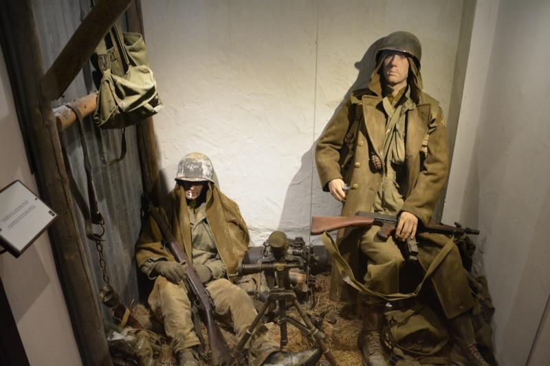 Musée de la 101 st Airborne à Bastogne Scyne_11