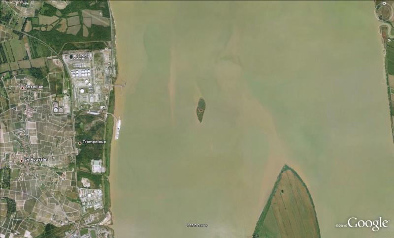 Les îles de l'estuaire de la Gironde - Gironde  - France Ile210