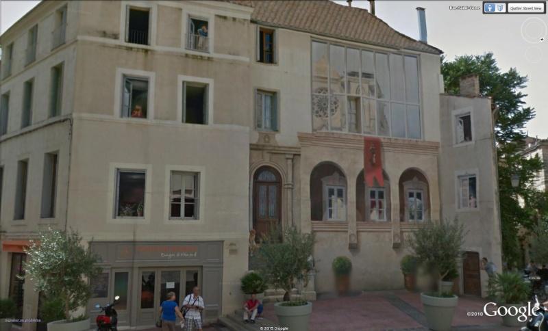 STREET VIEW : les fresques murales en France Trompe10