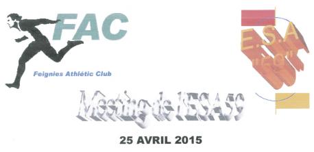 Meeting à Feignies (59); 3000/5000: 25/4/2015 Feigni10
