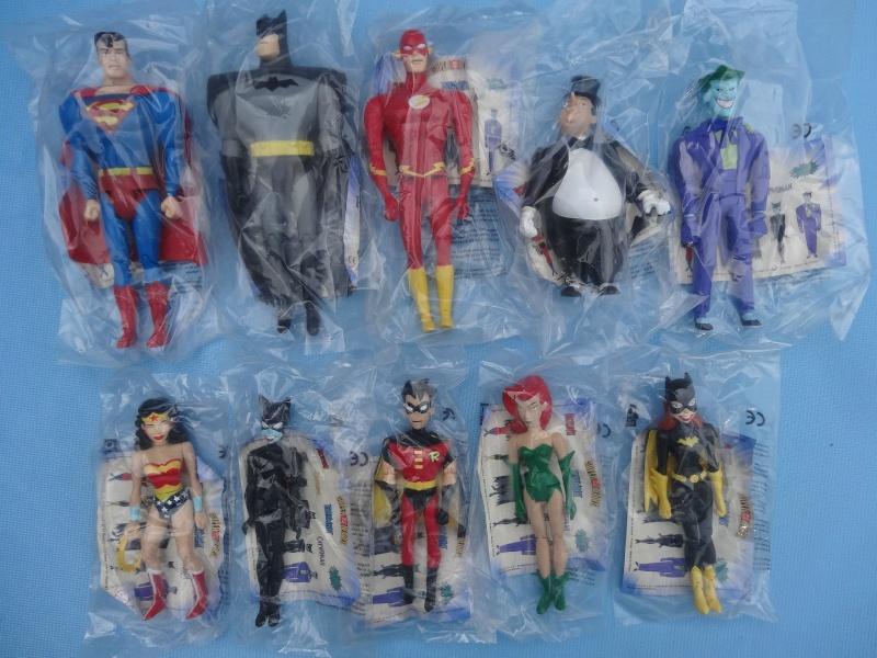 collezione supereroi da fast food rara _57111