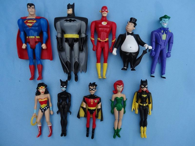collezione supereroi da fast food rara _5712