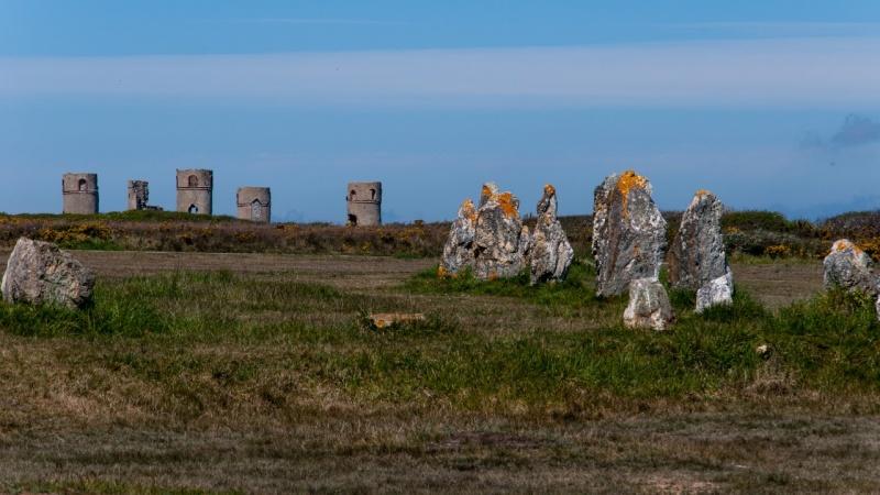 Alignement Mégalithique de Lagatjar - Camaret-sur-Mer - Bretagne Menhir10