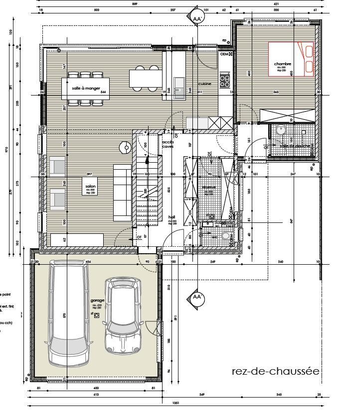 Maison bioclimatique Ligny (Belgique) Rdc_0112