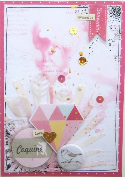 Challenge Scrapbooking Day N°2---Icenalys  - Page 3 Coquin10