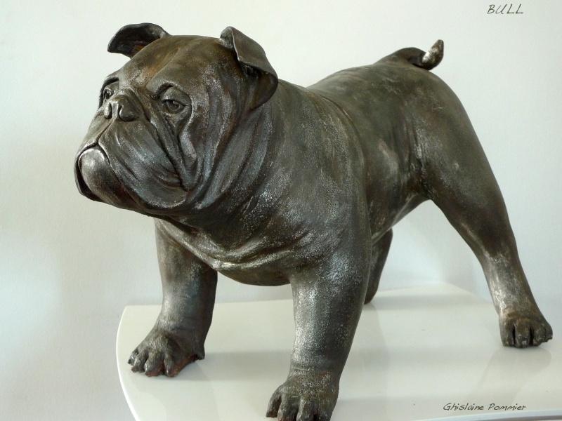 Questions sur mes sculptures en argile et finitions couleurs Bull_10