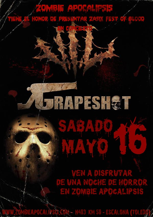 Zombie Apocalipsis VI: Fest of Blood Anunci10