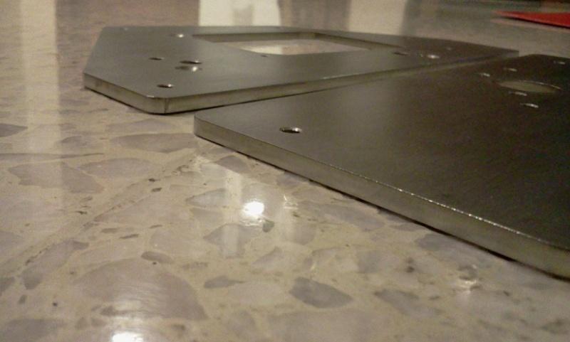 Lenco turntable project - 29/06/16 more progress Lencot12