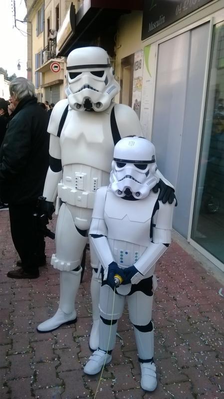 Projet armure Stormtrooper enfant en mousse polyuréthane Carnav11