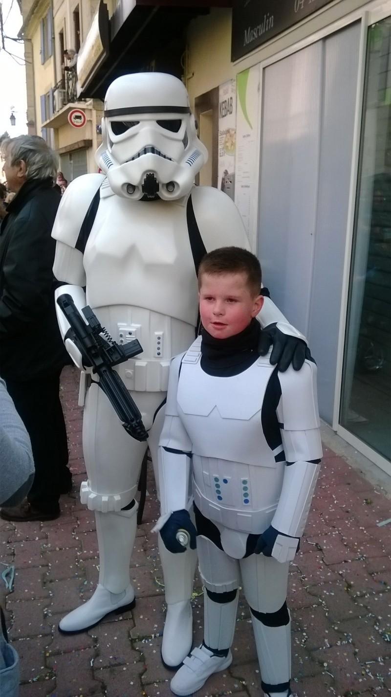 Projet armure Stormtrooper enfant en mousse polyuréthane Carnav12