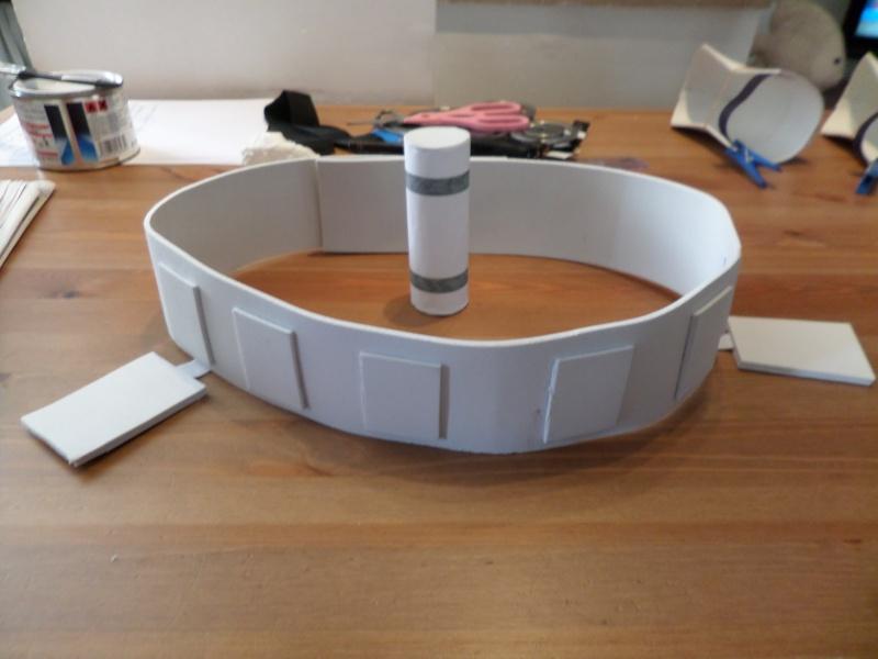 Projet armure Stormtrooper enfant en mousse polyuréthane Photos10