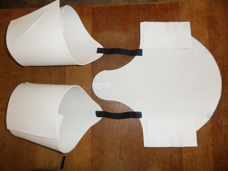 Projet armure Stormtrooper enfant en mousse polyuréthane Photos12