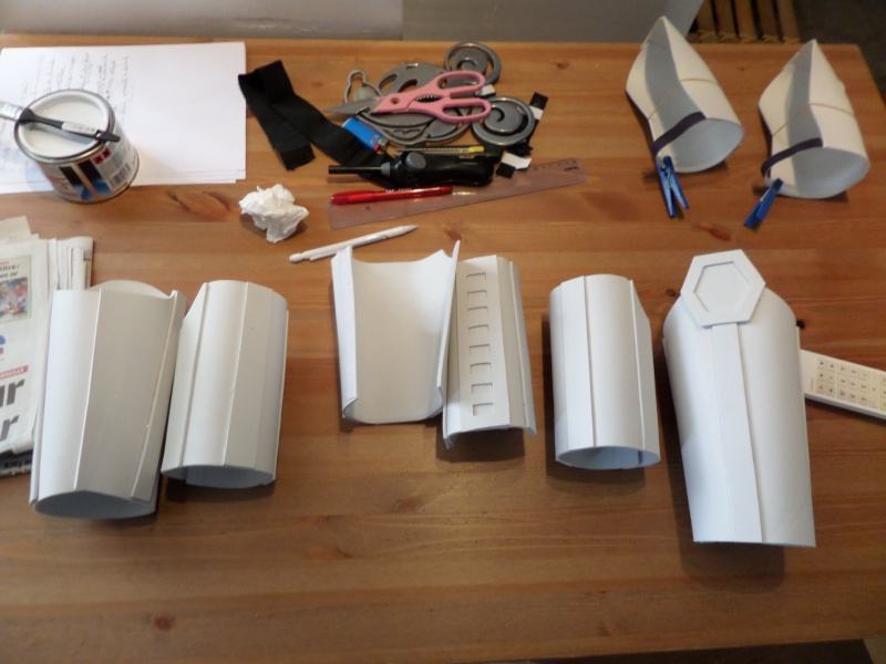 Projet armure Stormtrooper enfant en mousse polyuréthane Photos13