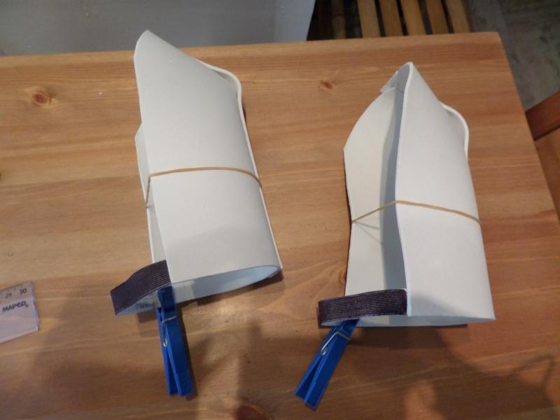 Projet armure Stormtrooper enfant en mousse polyuréthane Photos15