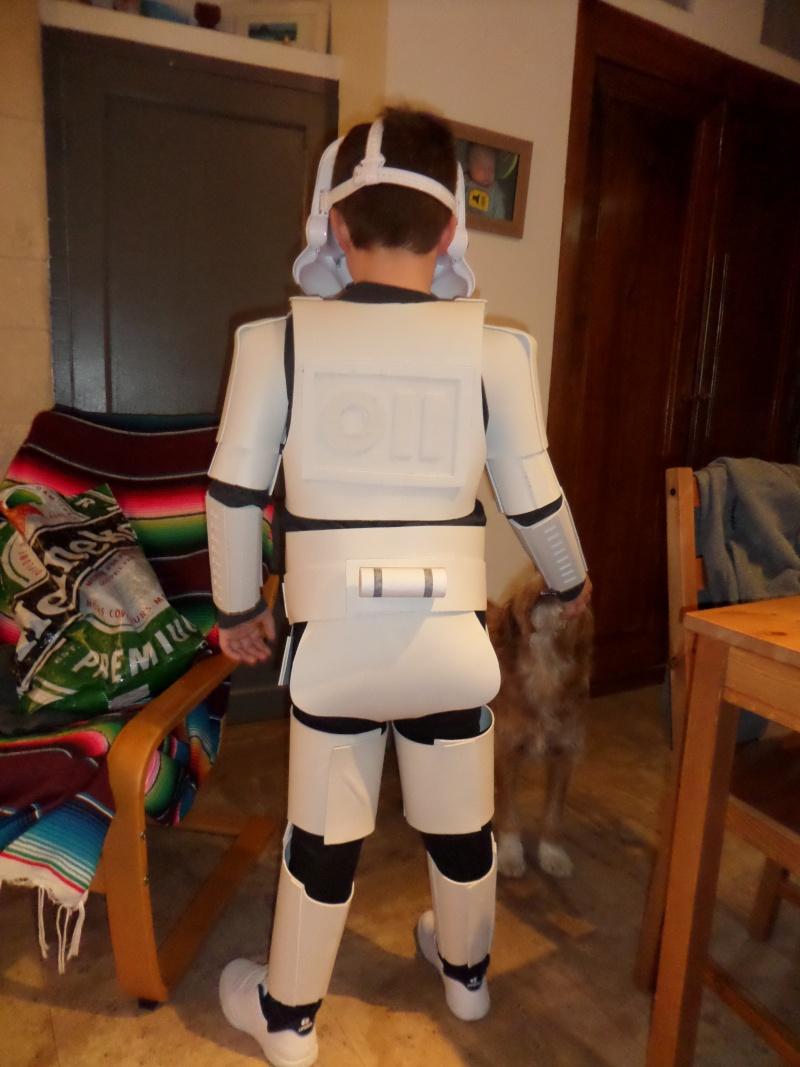 Projet armure Stormtrooper enfant en mousse polyuréthane Sam_1911