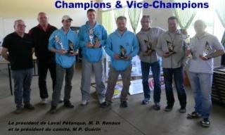 Championnat Triplette sénior et Féminine à Laval Vice10