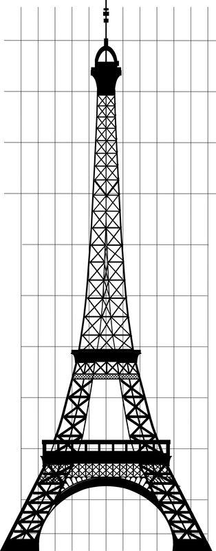 [Réalisation] Tour Eiffel au 1/200e stylisée  Te_210