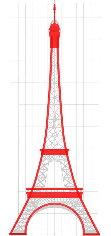 [Réalisation] Tour Eiffel au 1/200e stylisée  Te_310
