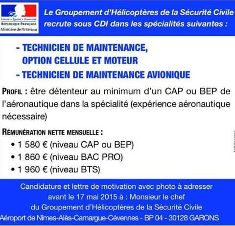 La Sécurité Civile (hélico) recrute ! Recrut10