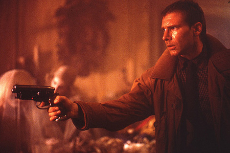 OFF WORLD : Blade runner , pistolet , blaster , prop , Deckard , Off World 25 anniversaire Deckar10