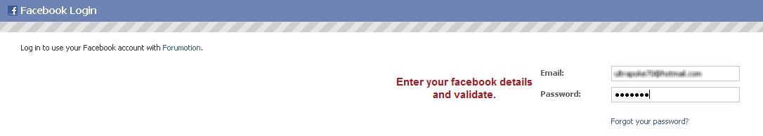Facebook connect per Forumattivo 23062010