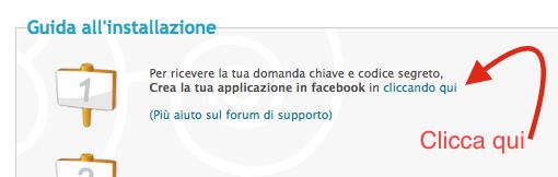 Facebook connect per Forumattivo Scherm27