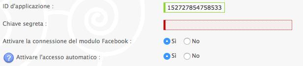 Facebook connect per Forumattivo Scherm32