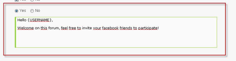 Facebook connect per Forumattivo Scherm33