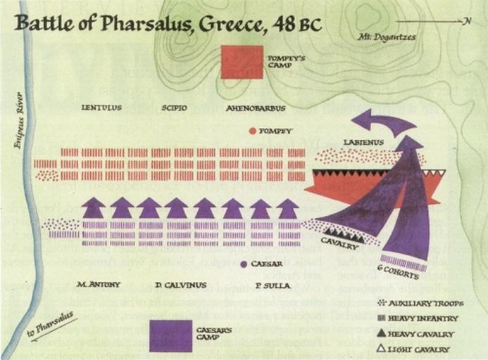 La battaglia di Farsalo - 48 a.C. 64959210