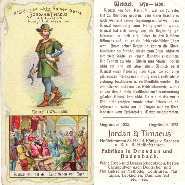 Un roi allemand - WENZEL 1378-1400  Roi_we12