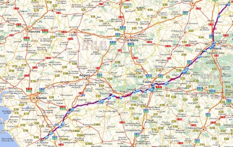 Nicolas du 91 au Vendée Electrique Tour 2015 + un crochet sur l'île de Ré = 850 kms AR Etampe10