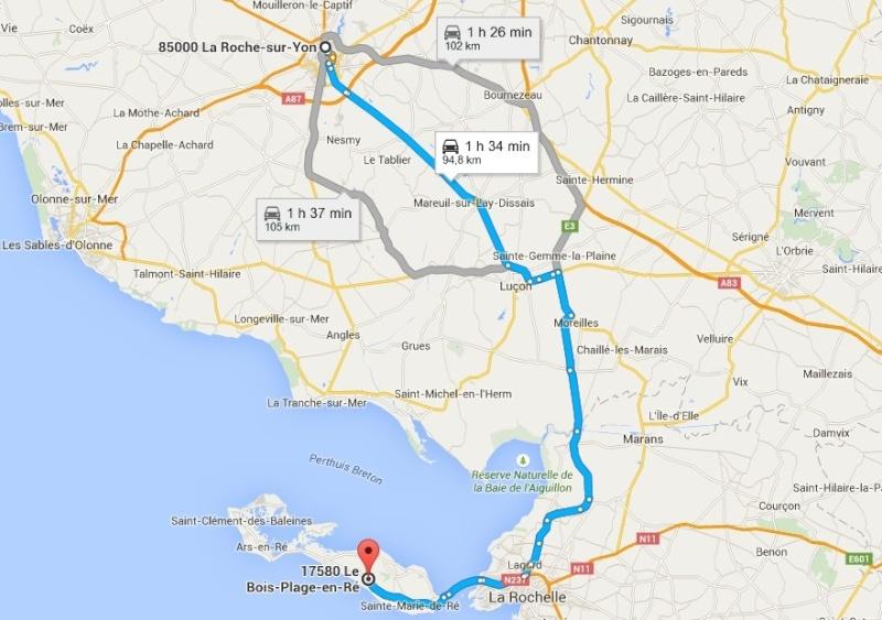 Nicolas du 91 au Vendée Electrique Tour 2015 + un crochet sur l'île de Ré = 850 kms AR La_roc11