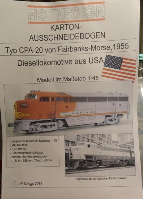 Diesellokomotive,CPA-24-5 v.1955, 1:45 von HS DESIGN   Dsc06310