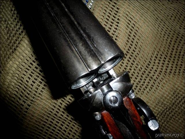 [DarkyGarage]  Projet Double Barrel Gun sur base coach gun denix P1030312