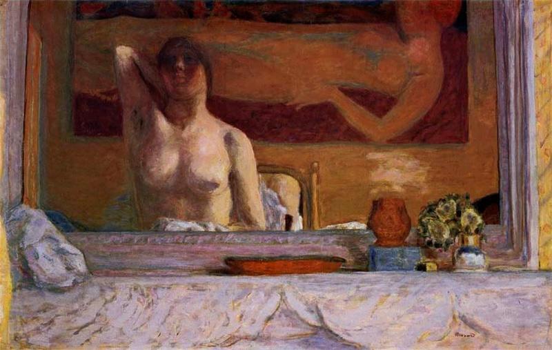 Bonnard, la peinture, la tonalité, la partie de cache-cache devant la cheminée. Bonnar13