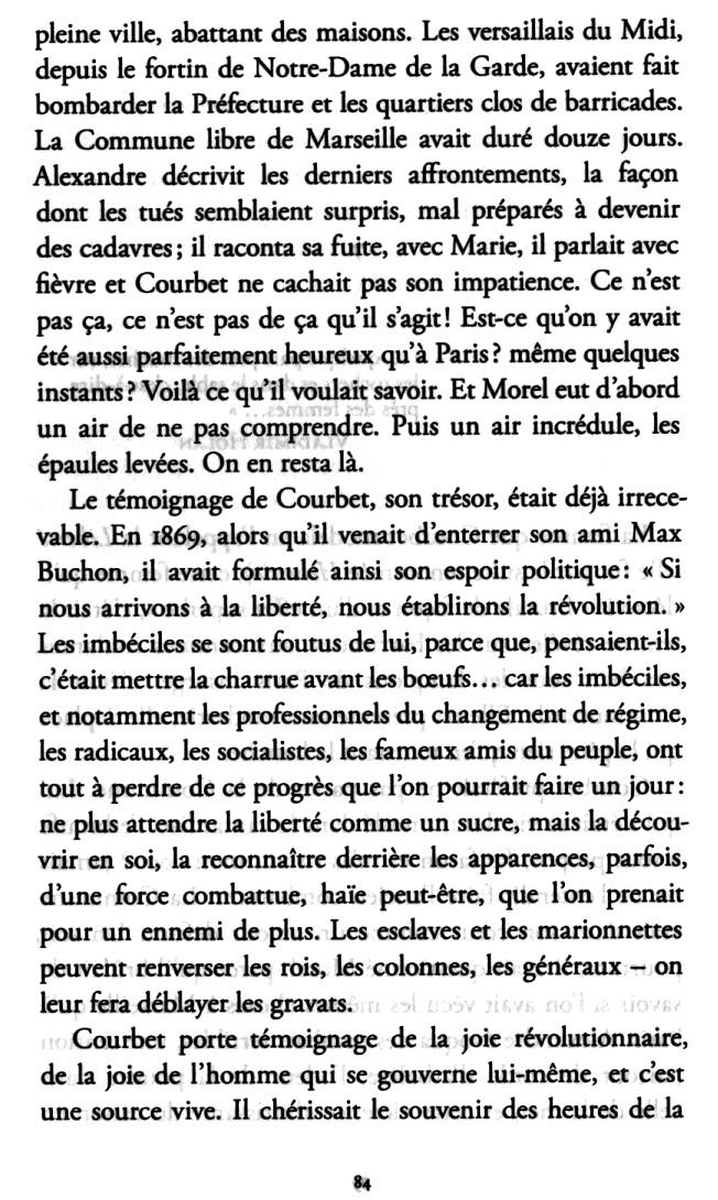 """David Bosc """"La claire fontaine"""", les années d'exil de Courbet Bosc_110"""
