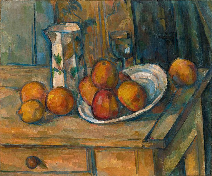 Cézanne... Pique nique au pont de Maincy Cezann14