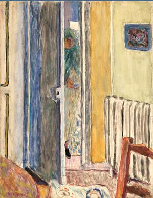 Bonnard, la peinture, la tonalité, la partie de cache-cache devant la cheminée. Pictur10
