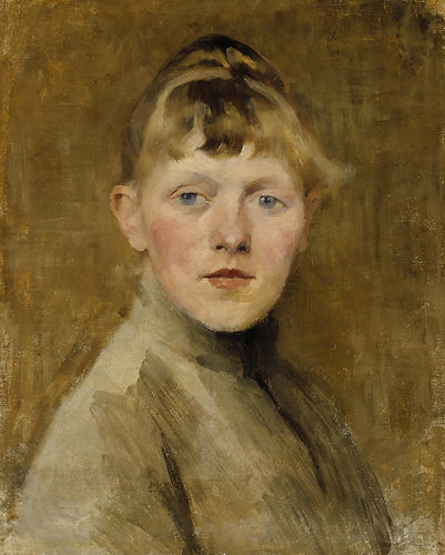 Les autoportraits d'Helene Schjerfbeck Schjer12