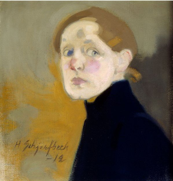 Les autoportraits d'Helene Schjerfbeck Schjer14