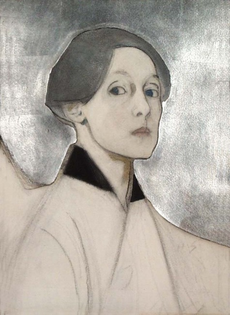 Les autoportraits d'Helene Schjerfbeck Schjer15