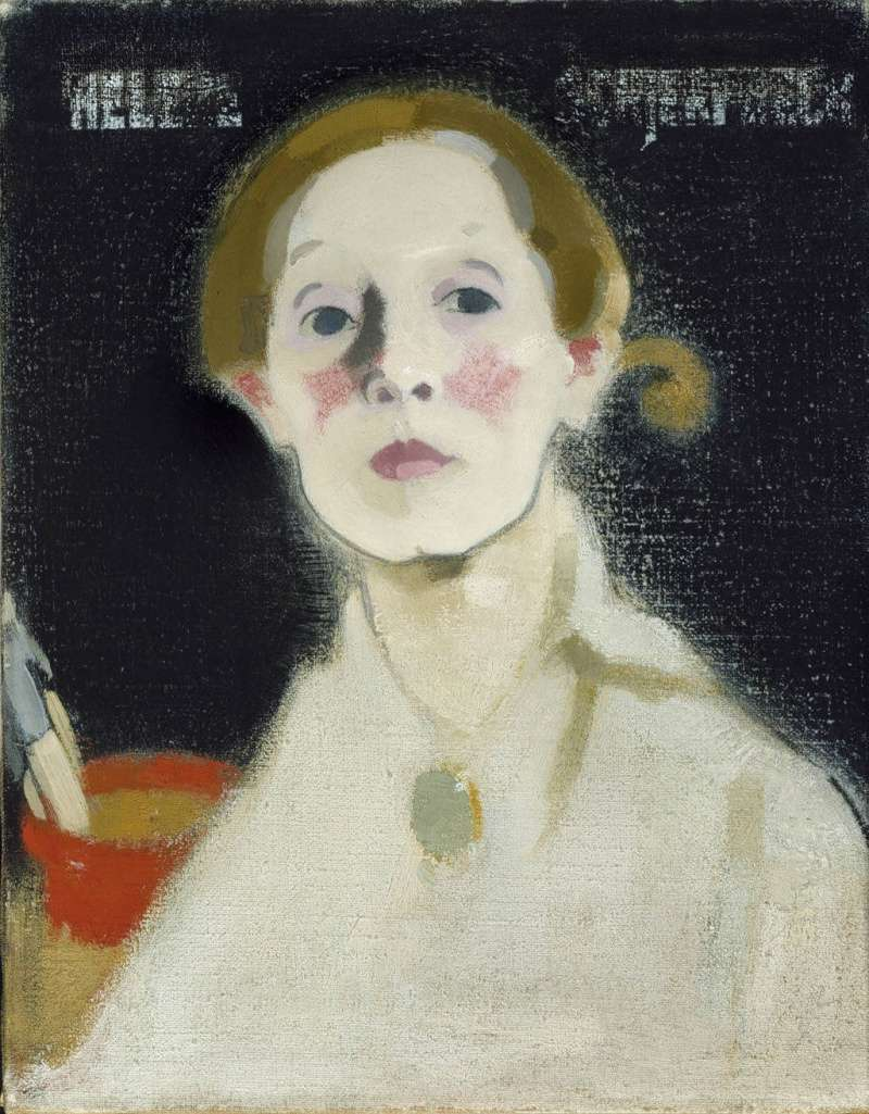 Les autoportraits d'Helene Schjerfbeck Schjer16