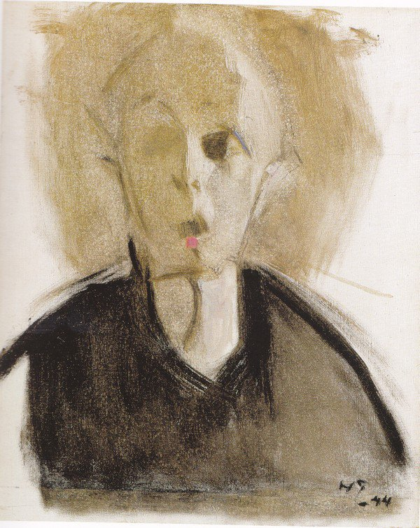 Les autoportraits d'Helene Schjerfbeck Schjer25