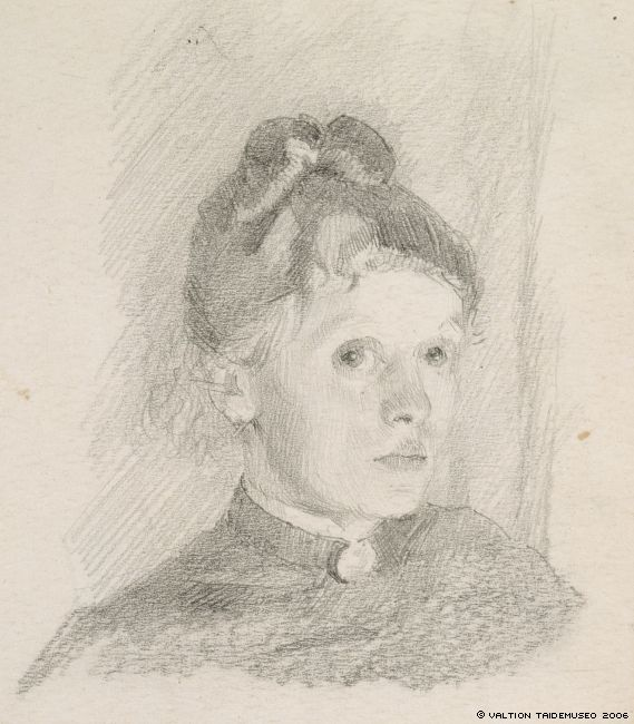 Les autoportraits d'Helene Schjerfbeck Schjer26