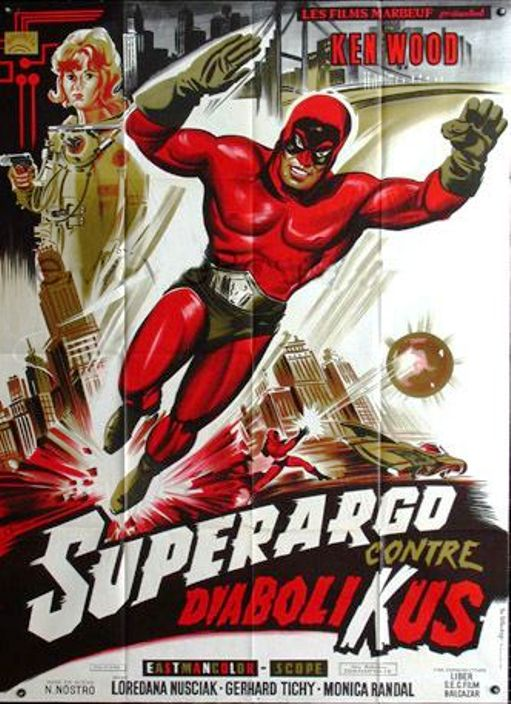 Superargo, el hombre enmascarado- SUPERARGO CONTRA DIABOLICUS- 1966, Nick Nostro En129610