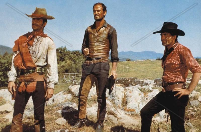 3 cavaliers pour Fort Yuma . Per Pochi Dollari Ancora . 1966 . Giorgio Ferroni. Per_po10