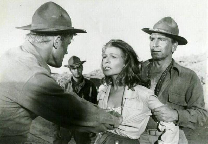 Ceux de Cordura. They came to Cordura. 1959. Robert Rossen. Sansti10